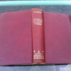 Libros de segunda mano: GREGORIO ALASTRUEY. TRATADO DE LA VIRGEN SANTISIMA. ED. BAC, 1952. Lote 194389726