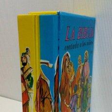 Libros de segunda mano: LA BIBLIA CONTADA A LOS NIÑOS. OBRA COMPLETA EN DOS TOMOS. EXCELENTE ESTADO!!!. Lote 194560982