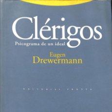 Libros de segunda mano: CLERIGOS PSICOGRAMA DE UN IDEAL. Lote 194586792