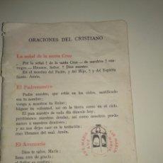 Libros de segunda mano: ANTIGUO LIBRO DE CATESISMO. Lote 194589405