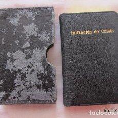 Libros de segunda mano: MINI LIBRO KEMPIS IMITACION DE CRISTO 1961 MINIATURA. Lote 194607486