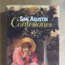 Libros de segunda mano: SAN AGUSTIN - CONFESIONES - BIBLIOTECA DE AUTORES CRISTIANOS - 2010. Lote 194632105