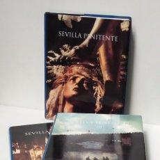 Libros de segunda mano: SEMANA SANTA, SEVILLA PENITENTE 3 TOMOS ESPECTACULARES EN FOTOGRAFIAS. Lote 194676826