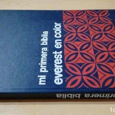 Libros de segunda mano: MI PRIMERA BIBLIA EVEREST EN COLOR - ANTONIO ROCHE NAVARROLL601. Lote 194733400