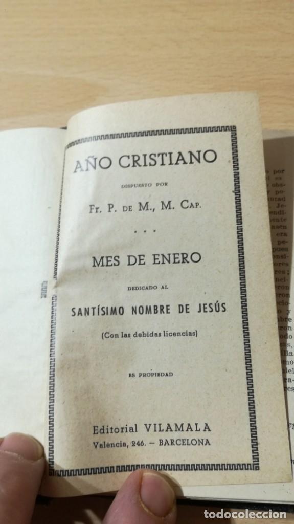 Libros de segunda mano: AÑO CRISTIANO - PELEGRIN DE MATARO - ED VILAMALLAM502 - Foto 4 - 194734481