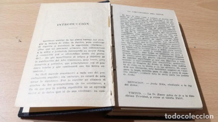 Libros de segunda mano: AÑO CRISTIANO - PELEGRIN DE MATARO - ED VILAMALLAM502 - Foto 5 - 194734481