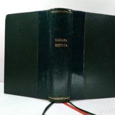 Libros de segunda mano: SAGRADA BIBLIA. VERSIÓN DIRECTA DE LAS LENGUAS ORIGINALES. NACAR FUSTER, E Y COLUNGA CUENTO, A. Lote 194750820