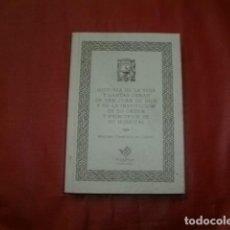 Libros de segunda mano: HISTORIA DE LA VIDA Y SANTAS OBRAS DE SAN JUAN DE DIOS - FRANCISCO DE CASTRO (EDICIÓN FACSÍMIL). Lote 194752058