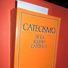 Libros de segunda mano: CATECISMO DE LA IGLESIA CATÓLICA. ED. ASOCIACIÓN DE EDITORES DEL CATECISMO. MADRID 1992. Lote 194752223