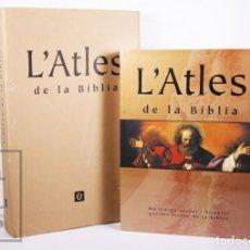 Libros de segunda mano: LIBRO DE GRAN FORMATO - L'ATLES DE LA BÍBLIA / ATLAS - ENCICLOPÈDIA CATALANA, 2007 - #FLA. Lote 194859435