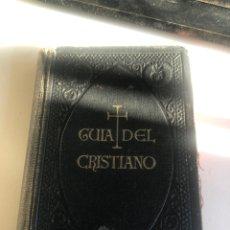 Libros de segunda mano: GUÍA DEL CRISTIANO. Lote 194862592