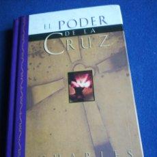 Libros de segunda mano: EL PODER DE LA CRUZ CHARLES STANLEY BETANIA TAPA DURA. Lote 194874383
