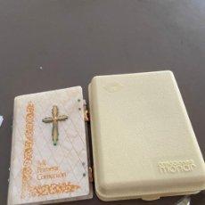 Libros de segunda mano: MISAL PRIMERA COMUNION NACAR 1973. Lote 194874573
