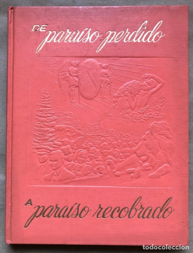 DE PARAÍSO PERDIDO A PARAÍSO RECOBRADO. EDITADO EN 1959. (Libros de Segunda Mano - Religión)