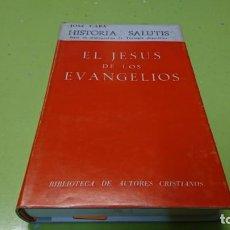 Libros de segunda mano: EL JESÚS DE LOS EVANGELIOS, JOSÉ CABA . Lote 194885853