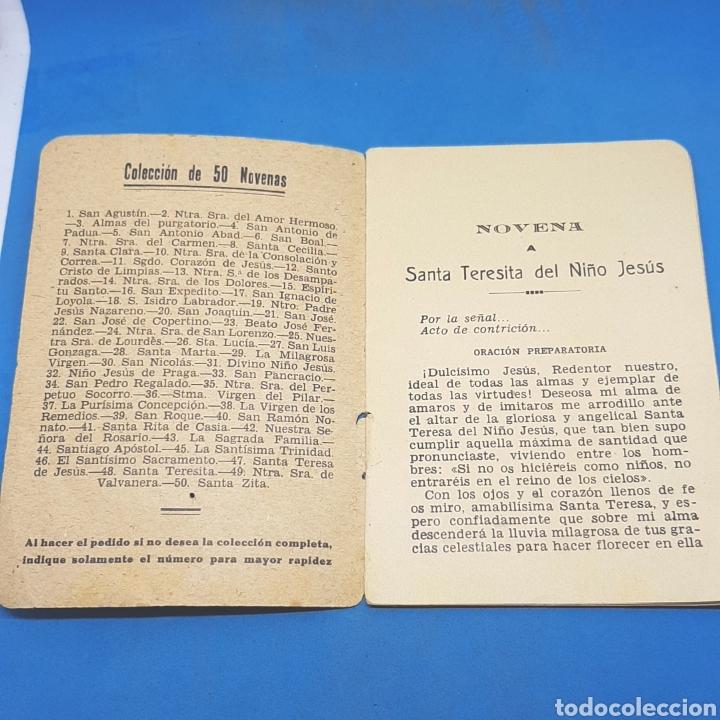 Libros de segunda mano: (ER.02) LIBRITO NOVENA A TERESITA DEL NIÑO JESÚS - Foto 2 - 194899656