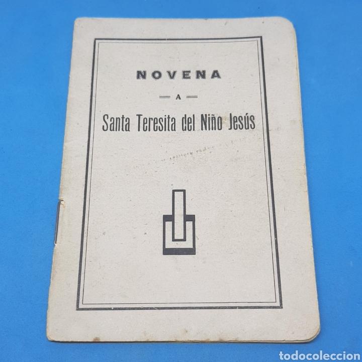 (ER.02) LIBRITO NOVENA A TERESITA DEL NIÑO JESÚS (Libros de Segunda Mano - Religión)