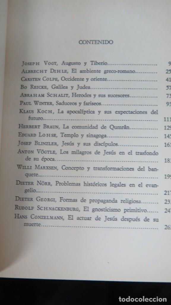 Libros de segunda mano: JESUS Y SU TIEMPO - Foto 2 - 194900062