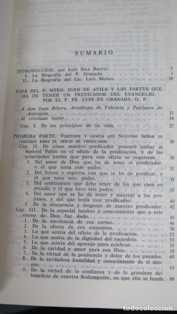 Libros de segunda mano: VIDAS DEL PADRE MAESTRO JUAN DE ÁVILA - Foto 2 - 194901416