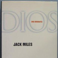 Libros de segunda mano: DIOS. UNA BIOGRAFÍA. MILES. Lote 194901536