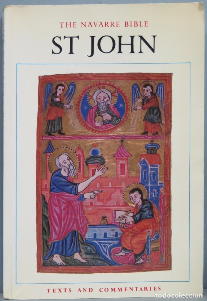 THE NAVARRE BIBLE ST. JOHN (Libros de Segunda Mano - Religión)
