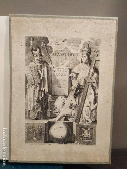 Libros de segunda mano: LA BIBLIA EN IMAGENES, GUSTAVO DORE, MANUEL MORERA 1979, PRIMERA EDICION - Foto 2 - 194967366