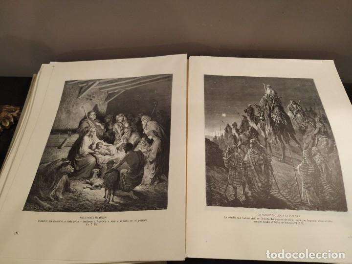 Libros de segunda mano: LA BIBLIA EN IMAGENES, GUSTAVO DORE, MANUEL MORERA 1979, PRIMERA EDICION - Foto 3 - 194967366