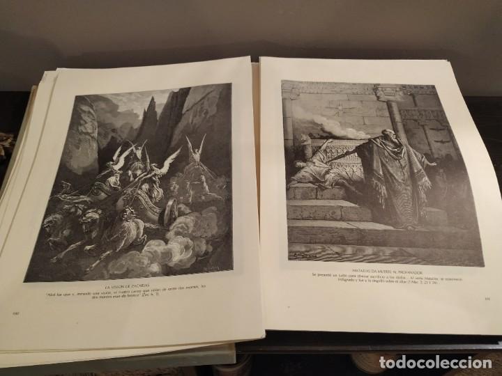 Libros de segunda mano: LA BIBLIA EN IMAGENES, GUSTAVO DORE, MANUEL MORERA 1979, PRIMERA EDICION - Foto 4 - 194967366