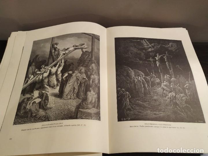 Libros de segunda mano: LA BIBLIA EN IMAGENES, GUSTAVO DORE, MANUEL MORERA 1979, PRIMERA EDICION - Foto 5 - 194967366