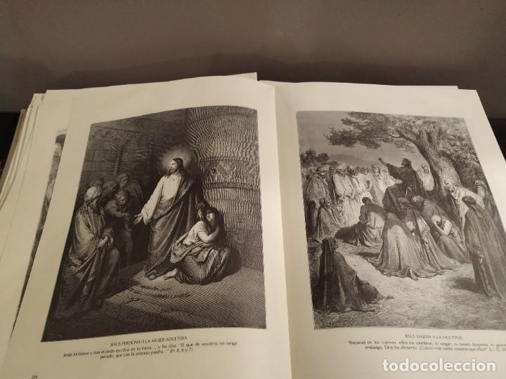 Libros de segunda mano: LA BIBLIA EN IMAGENES, GUSTAVO DORE, MANUEL MORERA 1979, PRIMERA EDICION - Foto 6 - 194967366