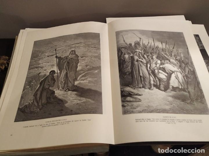 Libros de segunda mano: LA BIBLIA EN IMAGENES, GUSTAVO DORE, MANUEL MORERA 1979, PRIMERA EDICION - Foto 7 - 194967366