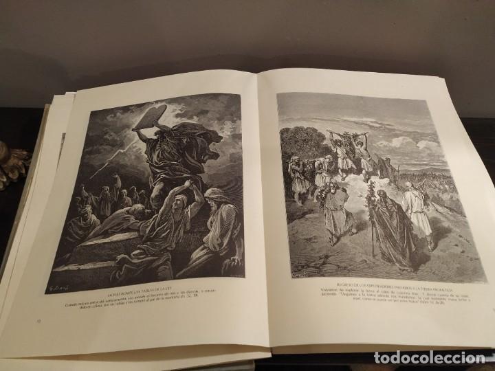 Libros de segunda mano: LA BIBLIA EN IMAGENES, GUSTAVO DORE, MANUEL MORERA 1979, PRIMERA EDICION - Foto 8 - 194967366