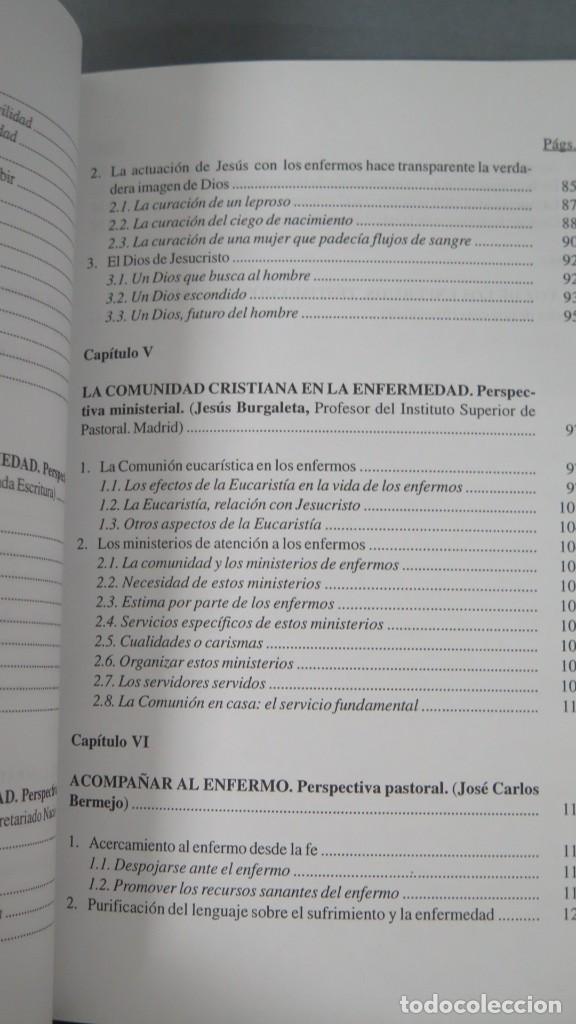 Libros de segunda mano: VIVIR SANAMENTE EL SUFRIMIENTO. CONFERENCIA EPISCOPAL ESPAÑOLA - Foto 4 - 194967618