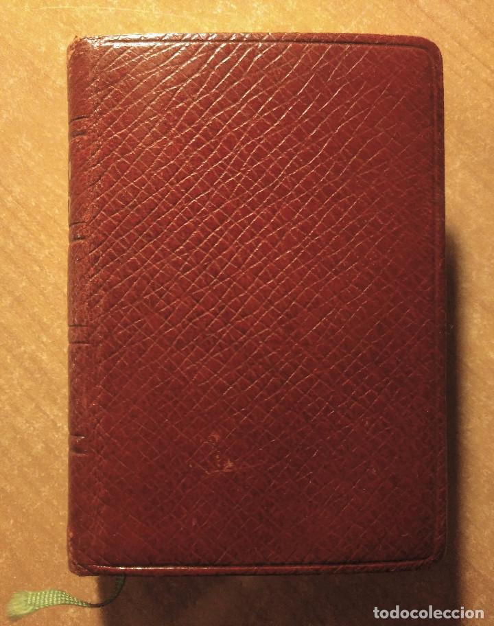 MINIATURA LA IMITACIÓN DE CRISTO + LA SANTA MISA Y OTRAS DEVOCIONES, EDITORIAL REGINA, 1949 (Libros de Segunda Mano - Religión)
