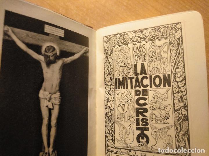 Libros de segunda mano: Miniatura La Imitación de Cristo + La Santa Misa y otras devociones, Editorial Regina, 1949 - Foto 6 - 194970937