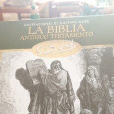 Libros de segunda mano: LA BIBLIA ANTIGUO Y NUEVO TESTAMENTO. Lote 195005818