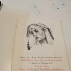 Libros de segunda mano: G-KUKI84 REVISTA SEMANA SANTA ENERO 2002 SAGRADA CENA. Lote 195035606