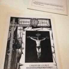 Libros de segunda mano: G-KUKI84 REVISTA SEMANA SANTA PERDN Y PAZ CAMINO DE LA CRUZ BOLETIN EXTRAORDINARIO . Lote 195037395