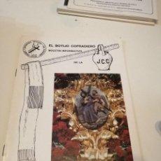 Libros de segunda mano: G-KUKI84 REVISTA SEMANA SANTA CUARESMA 1991 BOTIJO COFRADIERO J.C.C.. Lote 195037578