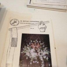 Libros de segunda mano: G-KUKI84 REVISTA SEMANA SANTA CUARESMA 1989 BOTIJO COFRADIERO J.C.C.. Lote 195037660