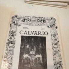 Libros de segunda mano: G-KUKI84 REVISTA SEMANA SANTA CALVARIO NUMERO 7 SEVILLA . Lote 195037806
