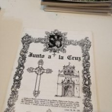 Libros de segunda mano: G-KUKI84 REVISTA SEMANA SANTA JUNTO A LA CRUZ. Lote 195038843