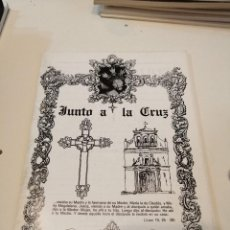 Libros de segunda mano: G-KUKI84 REVISTA SEMANA SANTA JUNTO A LA CRUZ. Lote 195038957