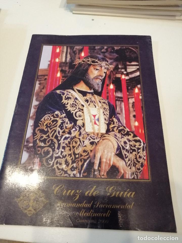 G-KUKI84 REVISTA SEMANA SANTA CRUZ DE GUIA MEDINACELI CUARESMA 2000 (Libros de Segunda Mano - Religión)