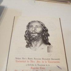 Libros de segunda mano: G-KUKI84 REVISTA SEMANA SANTA ENCARNACION 6 2001. Lote 195039828
