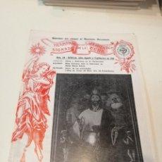 Libros de segunda mano: G-KUKI84 REVISTA SEMANA SANTA HERMANDAD SACRAMENTAL SAGRADA DE LA CENA . Lote 195041482
