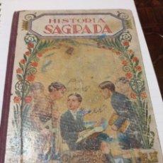 Libros de segunda mano: HISTORIA SAGRADA. Lote 195046362