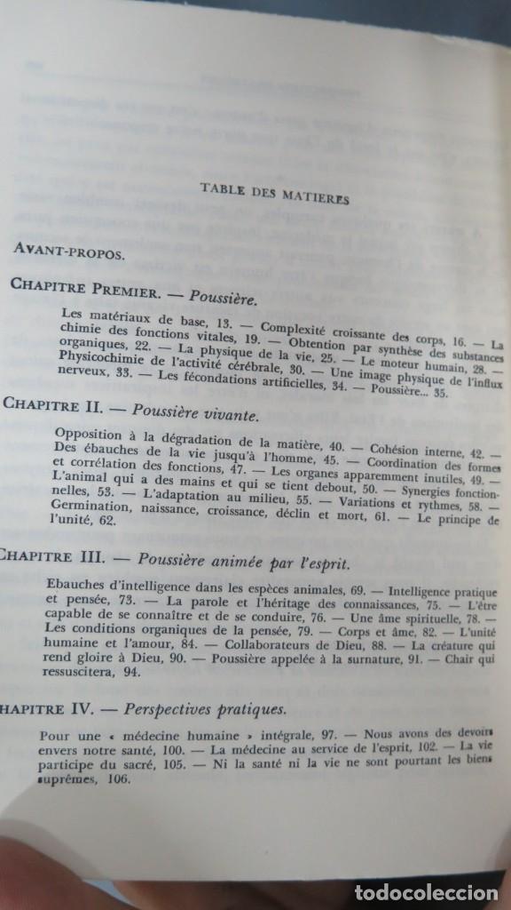 Libros de segunda mano: POUSSIERE VIVANTE. BIOT. JE SAIS-JE CROIS - Foto 2 - 195046860