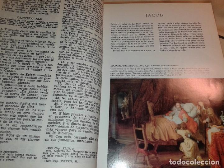 Libros de segunda mano: LA SAGRADA BIBLIA, FELIX TORRES AMAT, Pesa 3 kg - Foto 5 - 195050016