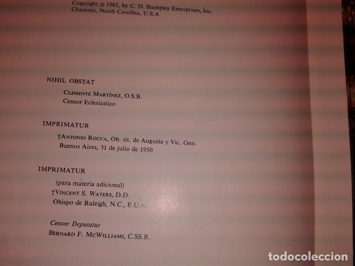 Libros de segunda mano: LA SAGRADA BIBLIA, FELIX TORRES AMAT, Pesa 3 kg - Foto 9 - 195050016